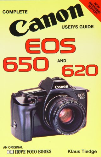 9780863430947: Canon Eos 650/620 (Hove User's Guide)