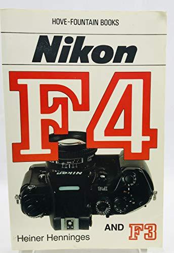 9780863432354: Nikon F4/F3: Including F4S/F4E