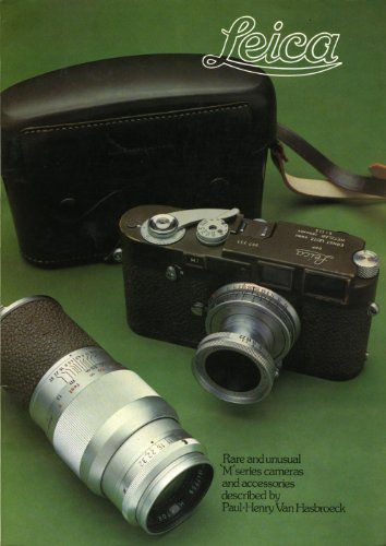 9780863433931: Leica: Rare and Unusual 'M' Series Cameras and Accessories