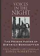 9780863475764: VOICES IN THE NIGHT: The Prison Poems of Dietrich Bonhoeffer