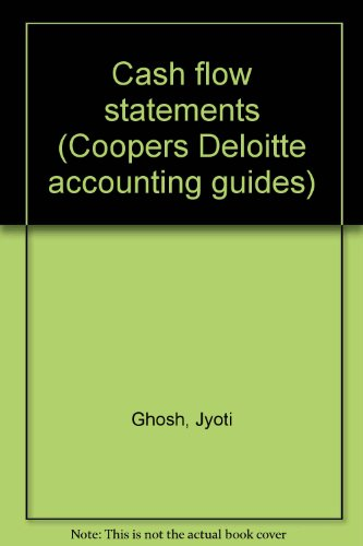 9780863491856: Cash flow statements (Coopers Deloitte accounting guides)