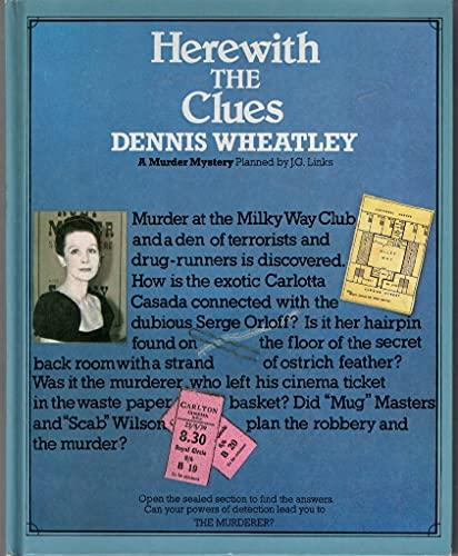Herewith the Clues (A Murder Mystery): Wheatley, Dennis