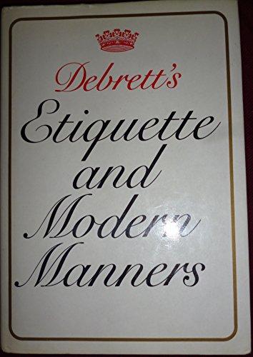 9780863503665: Debrett's Etiquette and Modern Manners