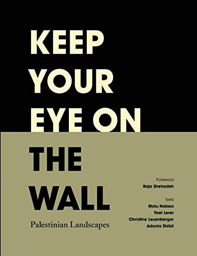 9780863567599: Keep Your Eye on the Wall: Palestinian Landscapes