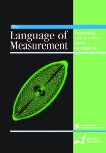 9780863574245: The Language of Measurement: Terminology Used in School Science Investigations.