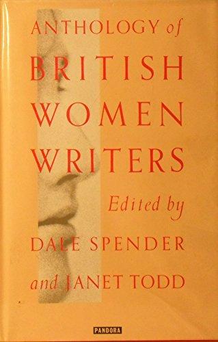 9780863582677: Anthology of British women writers