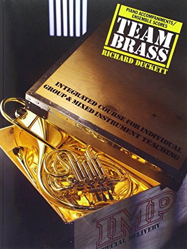 9780863595394: Piano Accompaniment/score (Team Brass)