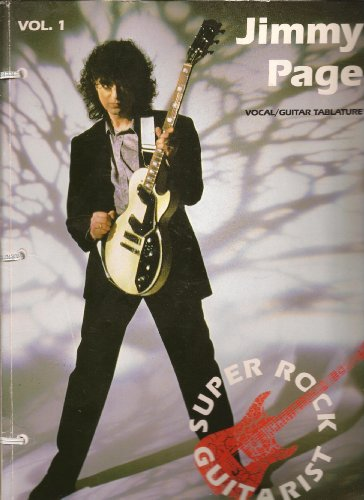 Jimmy Page | Super Rock Guitarist | Volumes One and Two | Vocal, Guitar Tablature: Page, Jimmy
