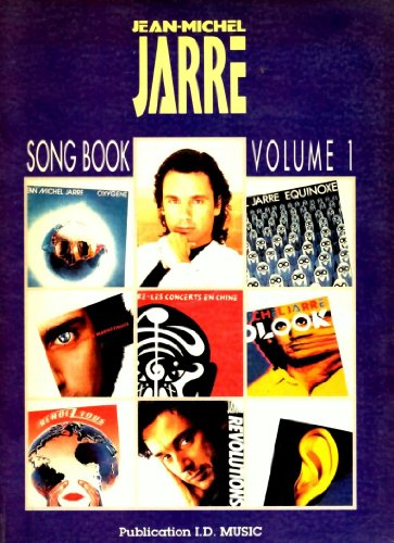 9780863598227: Jean-Michel Jarre Song Book Volume 1