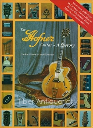 9780863599569: The Hofner Guitar: A History
