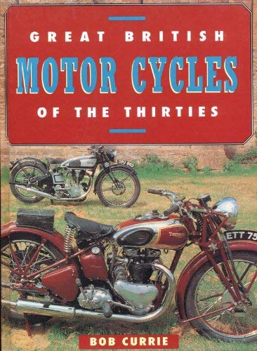 9780863630385: GT British Motorcycles of the 30's