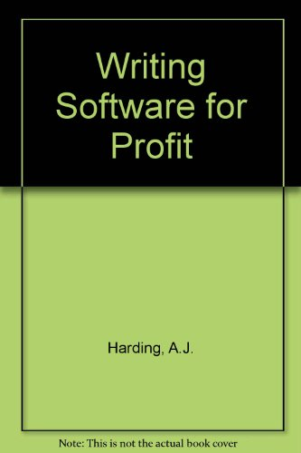 9780863690570: Writing Software for Profit