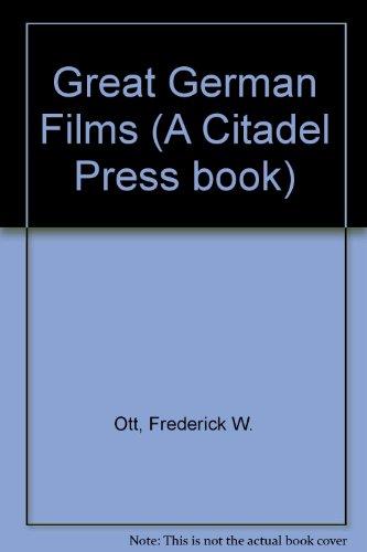 9780863695728: Great German Films (A Citadel Press book)