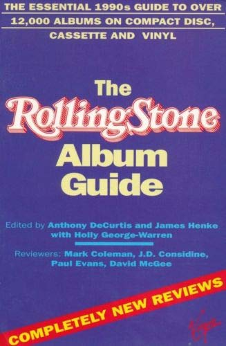 """Rolling Stone"" Album Guide (0863696430) by DeCurtis, Anthony; George-Warren, Holly"