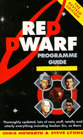 9780863696824: Red Dwarf Programme Guide