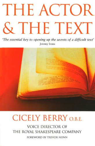 9780863697050: The Actor and the Text