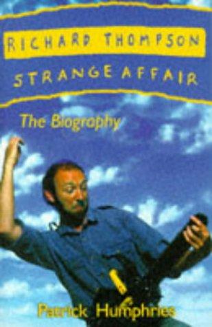 9780863699931: Richard Thompson: Strange Affair