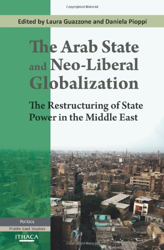 9780863723896: The Arab State and Neo-liberal Globalization: The Restructuring of State Power in the Middle East