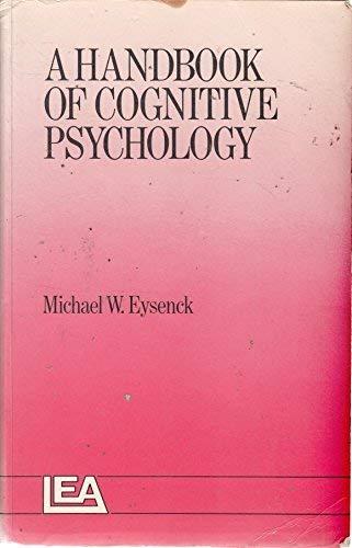 9780863770173: A HANDBOOK OF COGNITIVE PSYCHOLOGY