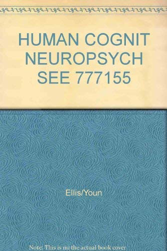 9780863770333: HUMAN COGNIT NEUROPSYCH SEE 777155