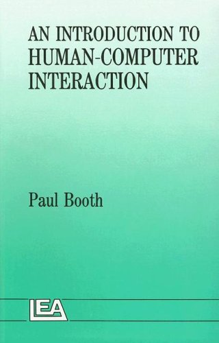 9780863771231: An Introduction To Human-Computer Interaction