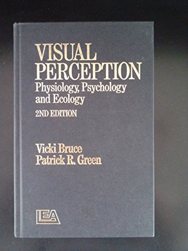 9780863771453: Visual Perception: Physiology, Psychology and Ecology