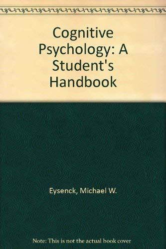 9780863771538: COGNIT PSYCHOL: A STUDENT SEE 3ED