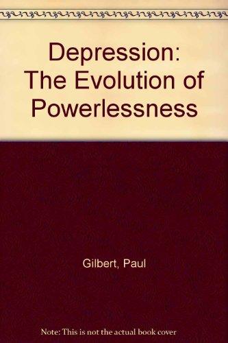 9780863772207: Depression: The Evolution of Powerlessness