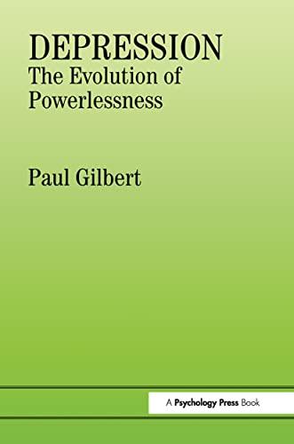 9780863772214: Depression: The Evolution of Powerlessness
