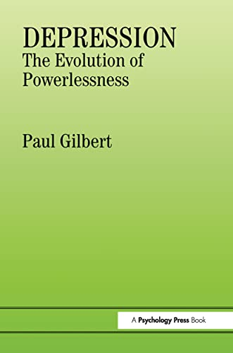 9780863772214: Depression: The Evolution of Powerlessness (Routledge Mental Health Classic Editions)