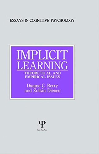 9780863772238: Implicit Learning: Theoretical and Empirical Issues (Essays in Cognitive Psychology)