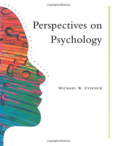 Perspectives On Psychology (Principles of Psychology) (9780863772559) by Michael W. Eysenck