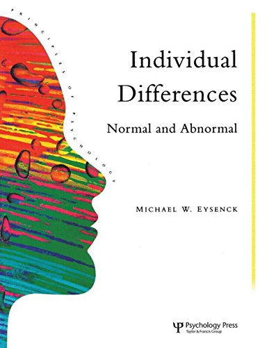 9780863772573: Individual Differences: Normal And Abnormal (Principles of Psychology) (Volume 13)