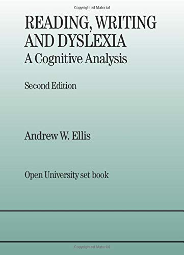 9780863773075: Reading, Writing and Dyslexia: A Cognitive Analysis