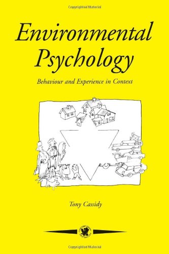 9780863774805: Environmental Psychology: Behaviour and Experience In Context (Contemporary Psychology)