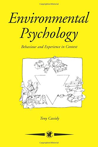9780863774812: Environmental Psychology: Behaviour and Experience in Context (Contemporary Psychology Series)