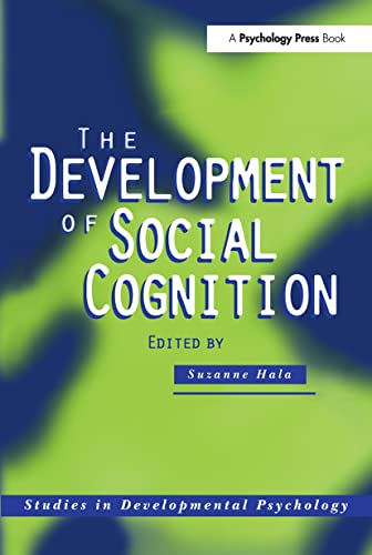 9780863774980: The Development of Social Cognition (Studies in Developmental Psychology)