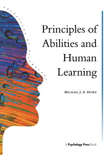9780863775338: Principles Of Abilities And Human Learning (Principles of Psychology: A Modular Introduction)