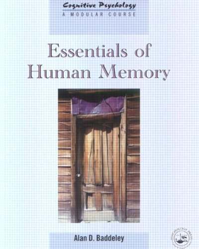 9780863775444: Essentials of Human Memory (Cognitive Psychology)