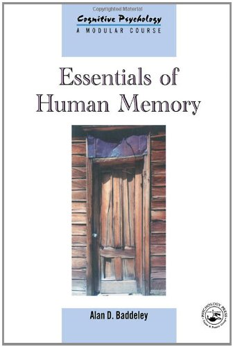 9780863775451: Essentials of Human Memory: Volume 11 (Cognitive Psychology)
