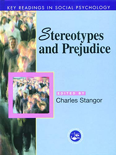 9780863775888: Stereotypes and Prejudice: Key Readings (Key Readings in Social Psychology)