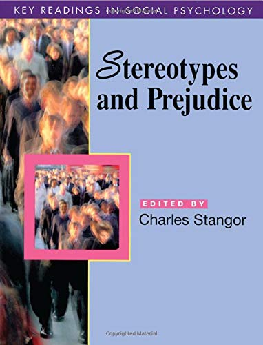 9780863775895: Stereotypes and Prejudice: Key Readings (Key Readings in Social Psychology)