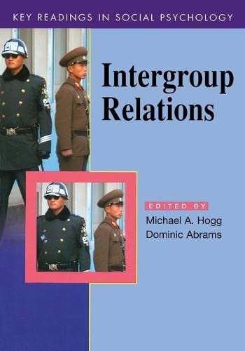 9780863776793: Intergroup Relations: Key Readings