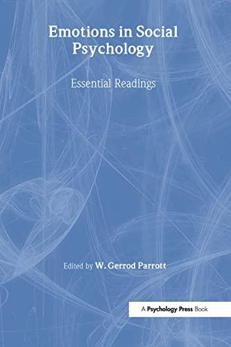 9780863776823: Emotions in Social Psychology: Key Readings: Essential Readings (Key Readings in Social Psychology)