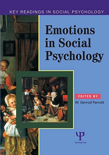 9780863776830: Emotions in Social Psychology: Key Readings (Key Readings in Social Psychology)