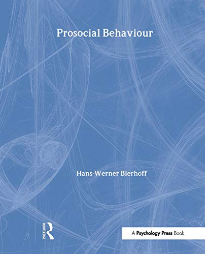 9780863777738: Prosocial Behaviour (Social Psychology)