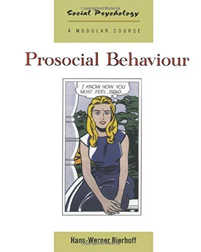 9780863777745: Prosocial Behaviour (Social Psychology)
