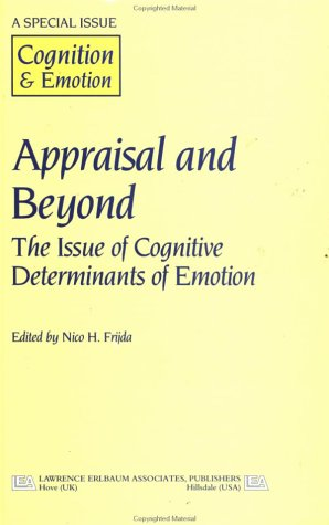 9780863779152: Appraisal And Beyond: The Issue Of Cognitive Determinants Of Emotion (Special Issues of Cognition and Emotion)