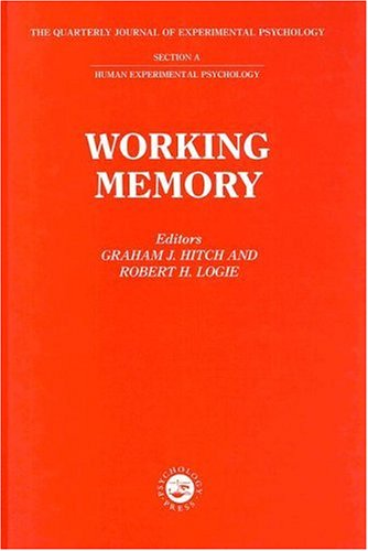 9780863779404: Working Memory: A Special Issue of