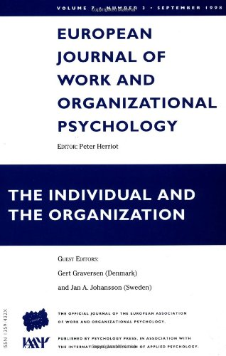 The Individual and the Organization: v. 7,
